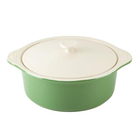 """Kate Spade  Bakeware and Baking Pans Green """" Hot Stuff"""" Large Casserole with Lid $50.00"""