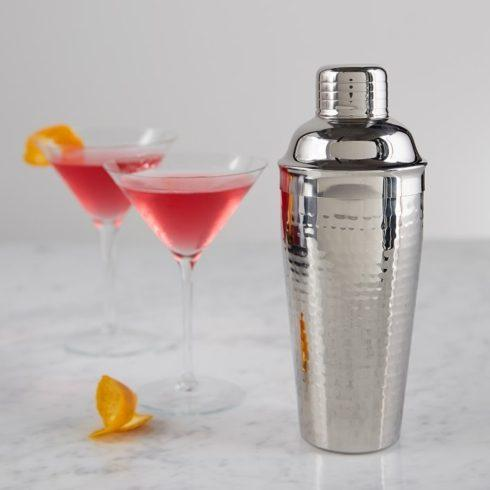 Elegance by Leeber  Hammered Metal Cocktail Shaker $24.00