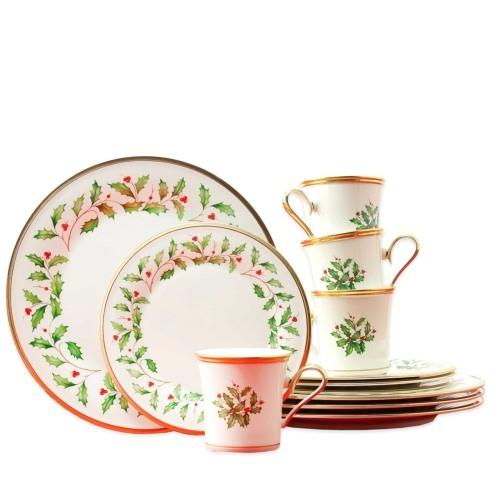 Lenox  Holiday Dinnerware 12 Piece Set  $200.00