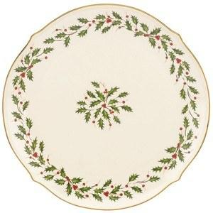 """Lenox  Holiday Dinnerware Round Platter, 13"""" $50.00"""