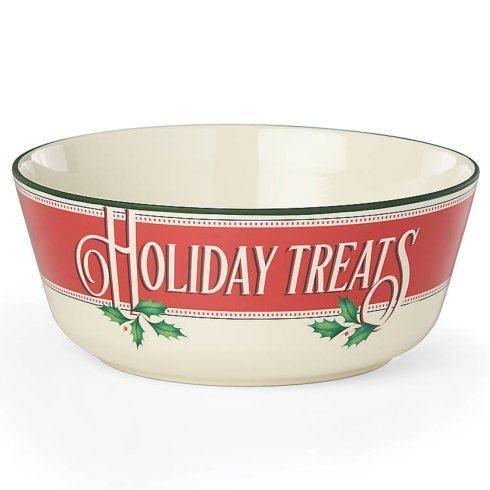 $30.00 Holiday Treats Serving Bowl