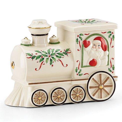 $40.00 Santa Train Cookie Jar