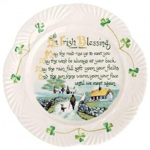Belleek  Celebration Plates Irish Blessing Plate $60.00