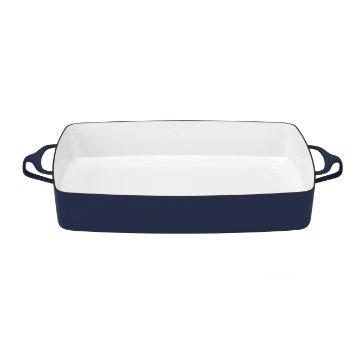 $100.00 Blue Large Rectangular Baker