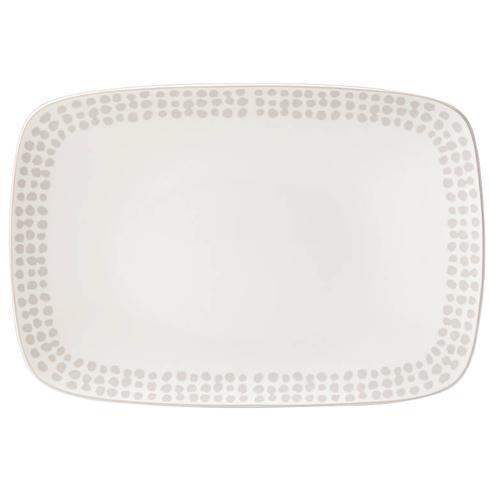 Kate Spade Spring Street  Beige Platter $90.00