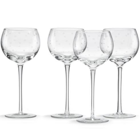 Kate Spade  Larabee Dot Barware Balloon Wine Glasses, Set of 4 $50.00