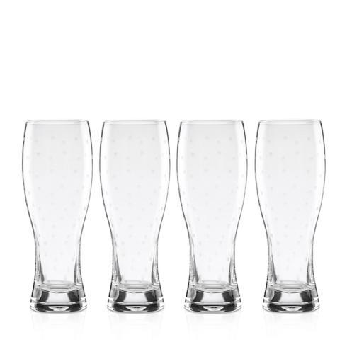 Kate Spade  Larabee Dot Barware Wheat Beer Glasses, Set of 4 $50.00