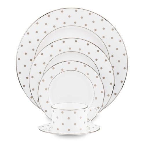 Kate Spade  Larabee Road Platinum 5 Piece Place Setting $165.00