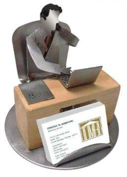 H k steel sculptures steel sculpture business card and pen 4600 attorney business card holder male colourmoves