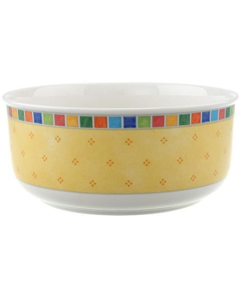 "Villeroy & Boch Twist Alea Dinnerware Twist Alea Limone Round Vegetable Bowl, 7.75"" $45.00"