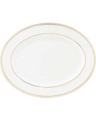 "Lenox  Federal Gold Oval Platter, 16"" $210.00"