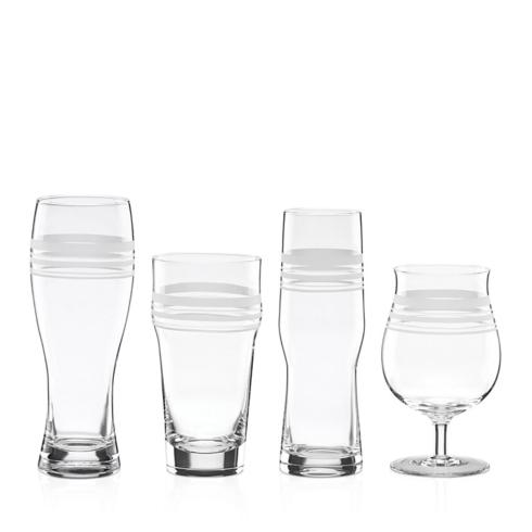 Kate Spade  Library Stripe Variety Beer Glasses, Set of 4 $50.00
