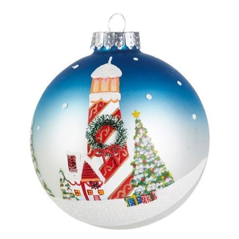 $16.00 Lighthouse Ball Ornament