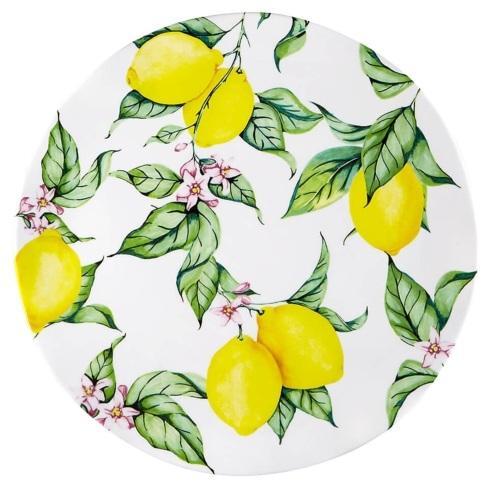 """Q Squared  Limonata Melamine Limonata 16"""" Round Platter $43.00"""