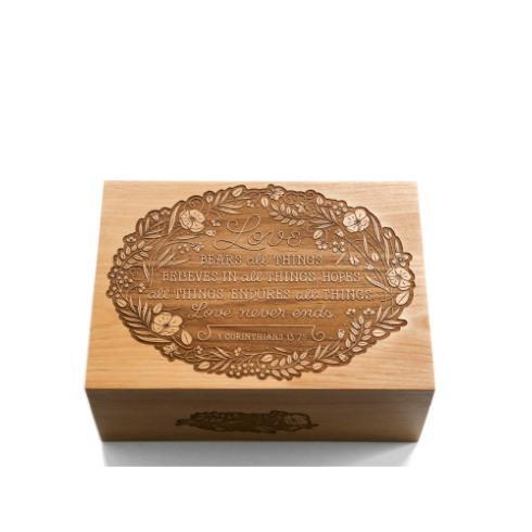 $100.00 Love Wood Box