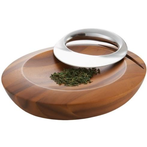Live With It by Lora Hobbs Exclusives  Nambe Harmony Mezzaluna Herb Chopper $100.00