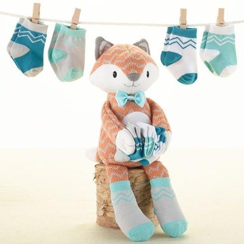 $32.00 Mr. Fox in Socks Plush plus Socks