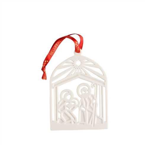 $18.00 Nativity Flat Ornament