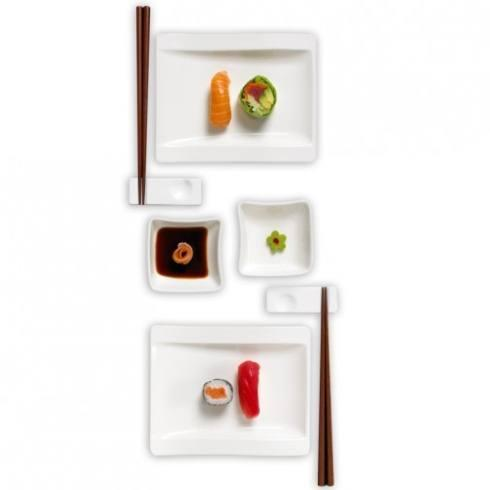 Villeroy & Boch New Wave New Wave Dinnerware Sushi for 2 Set $75.00