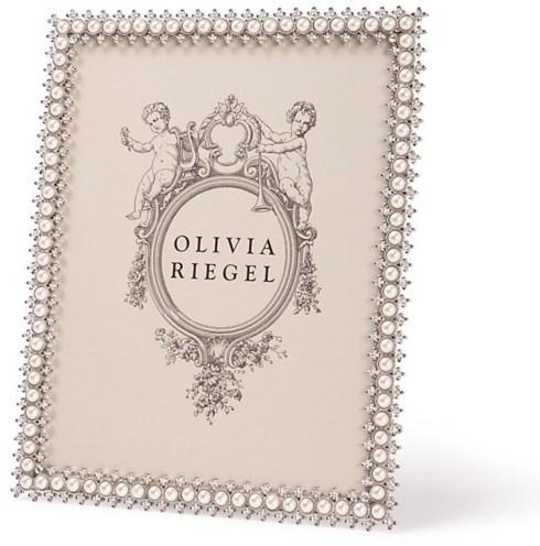 Olivia Riegel   Crystal & Pearl 8 x 10 Frame $138.00