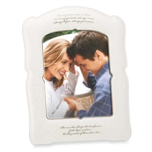 Lenox  Opal Innocence Giftware Love is Patient Frame 8 x 10 $90.00