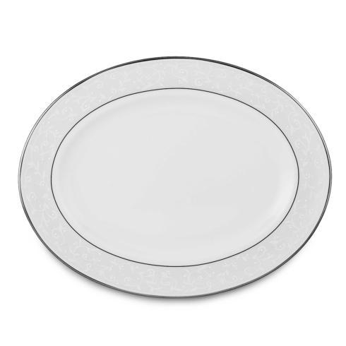 """Lenox  Opal Innocence  Oval Platter, 13"""" $210.00"""