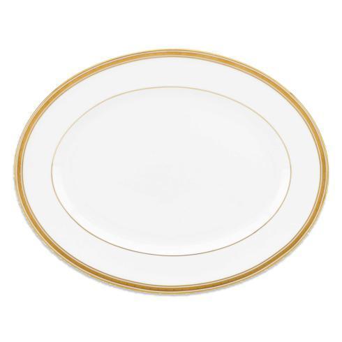 Kate Spade  Oxford Place Oval Platter, 13