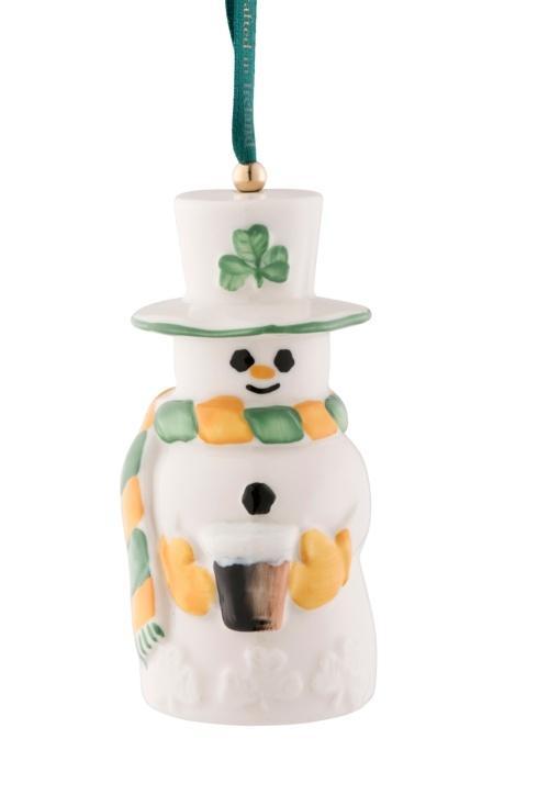 $40.00 Paddy Snowman Bell Ornament