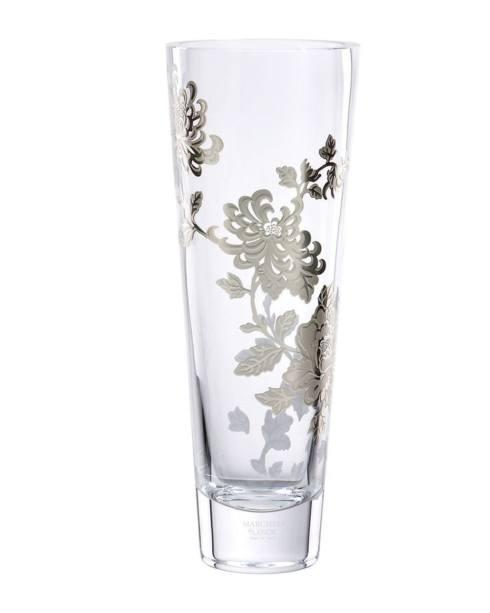 Marchesa by Lenox  Painted Camellia Crystal Vase 12.5