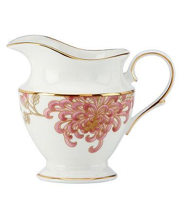 Marchesa by Lenox  Painted Camellia Creamer $180.00