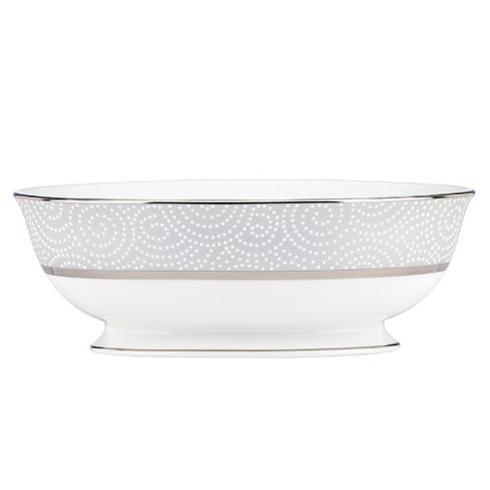 Lenox  Pearl Beads Open Vegetable Bowl $180.00