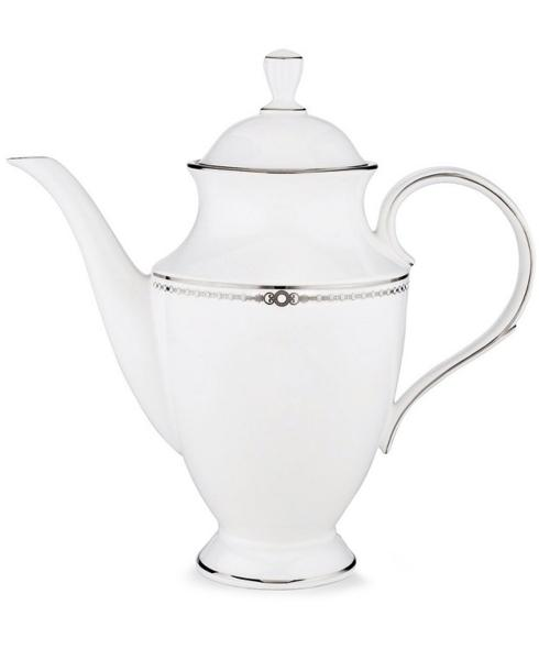 Lenox  Pearl Platinum Coffeepot, 48 oz. $269.00