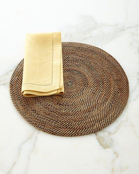 Round Placemats, Set of 4  collection with 1 products