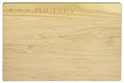 Martin\'s  Healthy Living Poultry Cutting Board $50.00