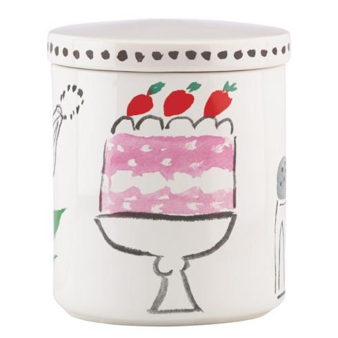 Kate Spade  Pretty Pantry Mugs, Accent & Appetizer Plates and Canisters Large Canister $25.00