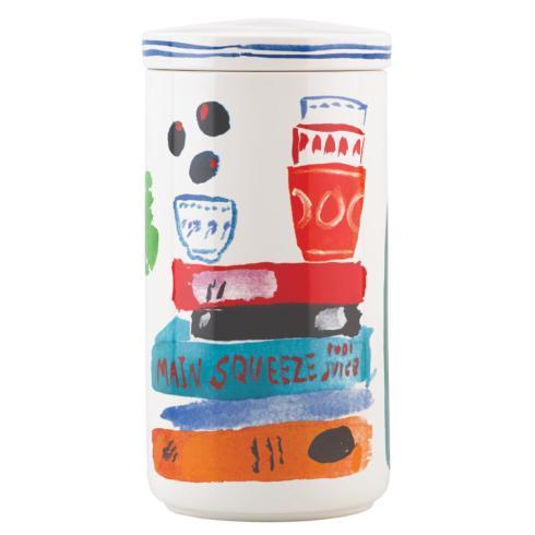 Kate Spade  Pretty Pantry Mugs, Accent & Appetizer Plates and Canisters Tall Canister $35.00