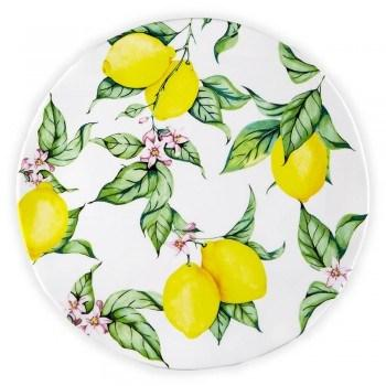 Q Squared  Limonata Melamine Dinnerware and Serveware Limonata Salad Plate $13.00