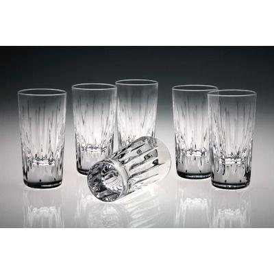 Live With It by Lora Hobbs Exclusives  Crystal Soho Crystal - Set of 6 Vodka/Shot Glasses  $80.00