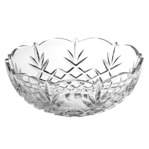 "Galway Irish Crystal  Lucky Finds Renmore Bowl, 9"" $45.00"