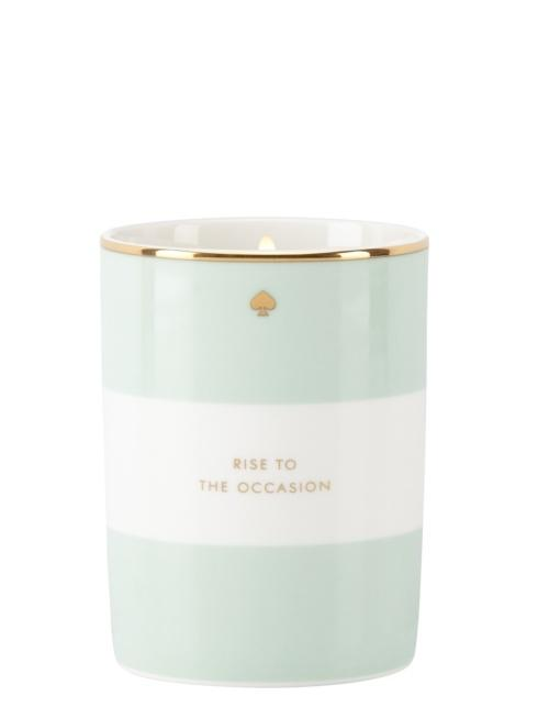 Kate Spade  Scented Candles Rise to the Occasion (Mint Stripe), Macaroon Scented Candle $40.00