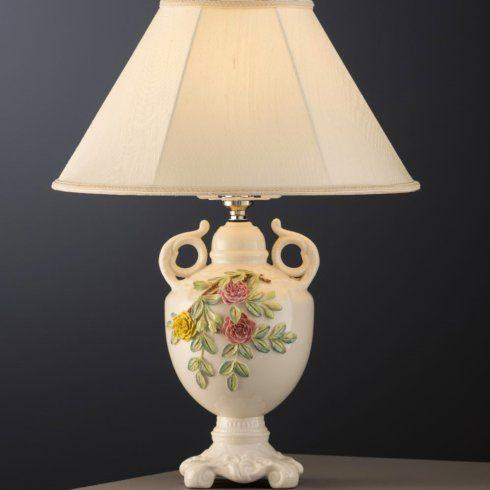$225.00 Rose Isle Lamp & Shade