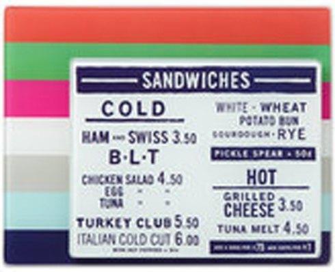 Kate Spade  Glass  Stripe Food Prep Boards, Set of 2 $25.00