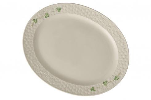 Belleek  Shamrock Tableware Shamrock Large Oval Platter $70.00