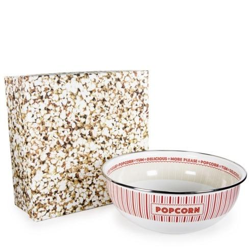 Golden Rabbit  Popcorn Showtime Bowl Boxed $44.50