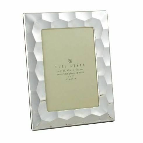 Elegance by Leeber  Silver Prism Frame, 5 x 7 $25.00