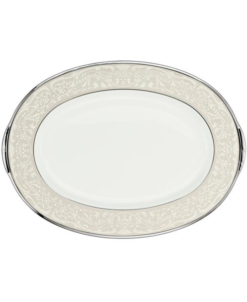 "Noritake  Silver Palace 14"" Oval Platter $200.00"