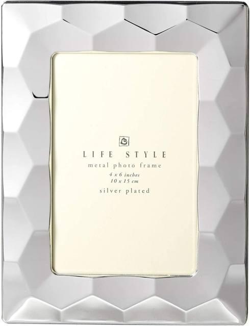Elegance by Leeber  Silver Prism Frame, 4 x 6 $20.00