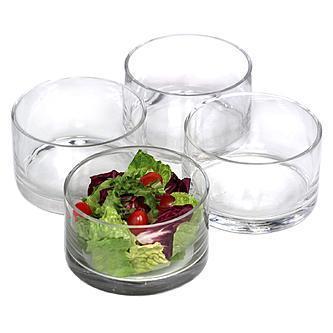 Artland  Simplicity Entertaining Cylinder Individual Salad Bowls, Set of 4 $28.00