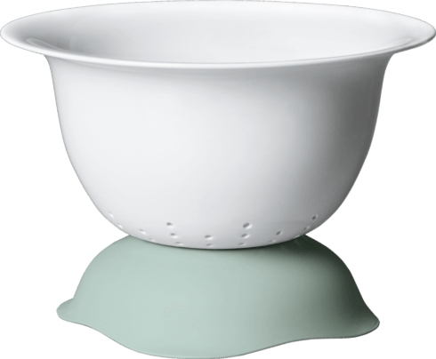 "Villeroy & Boch  Clever Cooking 11 1/2"" Serve Bowl/ Strainer in Green $80.00"