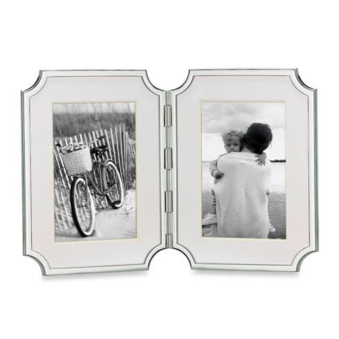 $115.00 Hinged Double Frame, 4 x 6